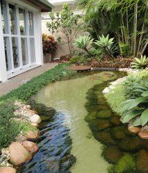 Thiết kế tiểu cảnh hồ nước để thu hút tài lộc cho gia chủ
